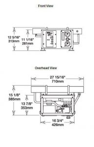 aqua whisper mini watermaker dimensions