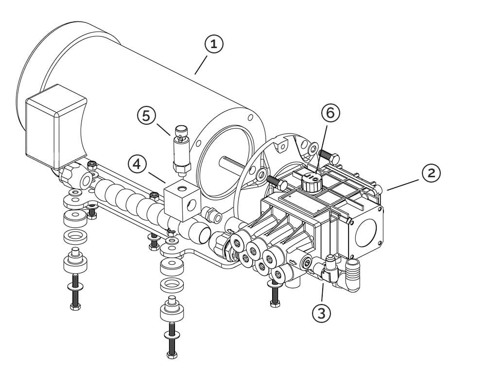 HP pump diagram