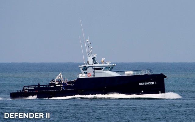 Defender II fast crew supplier