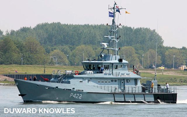 Dudward knowles partrol vessel