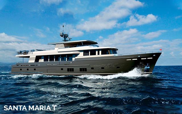 Santa Maria T yacht